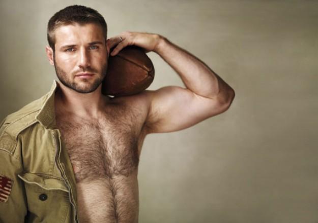 Calendrier Rugbyman Nu.Le Beau Bear Ben Cohen Nu Sous La Douche Dans Son Calendrier